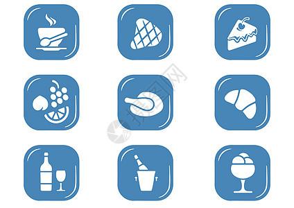 美食图标图片