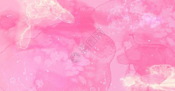粉红色水彩背景图片