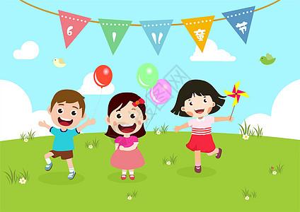 六一儿童节时尚作品图片