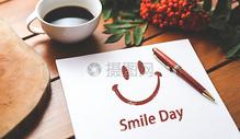 微笑日图片
