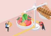 节食减肥图片