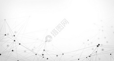 简约分子结构科技背景图片