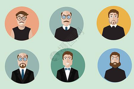 商务人物头像图标图片