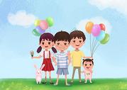六一儿童节大气主题图片