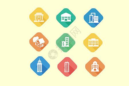 建筑类图标图片