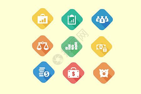 经济金融类图标图片