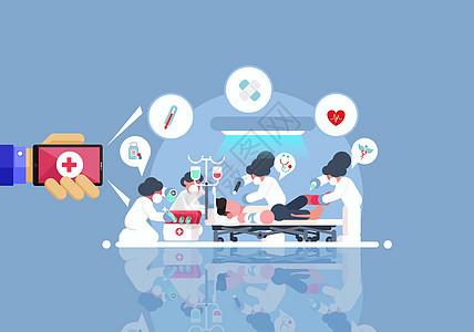 手机互联网便捷医疗图片
