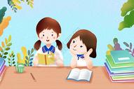 同学友谊图片