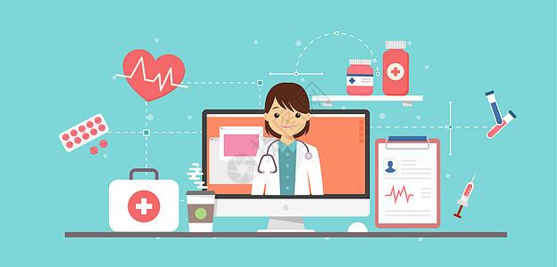 现代网络医生图片