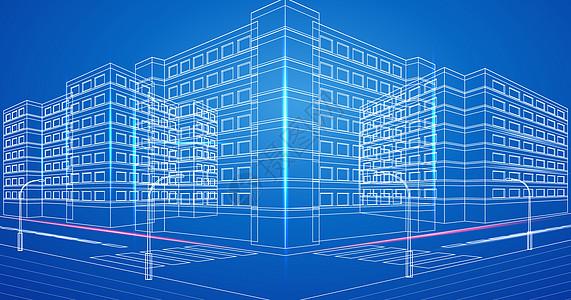 现代城市科技楼房图片