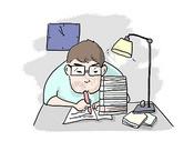课业压力图片