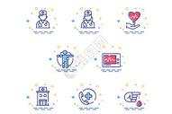 医疗mbe图标元素图片