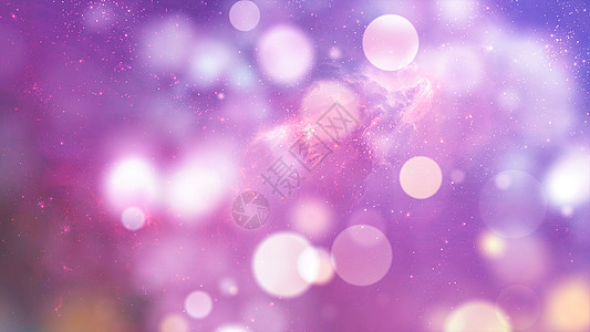 紫色梦幻光斑背景图片