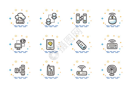 电子科技元素图片