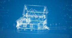 楼房科技线条400155517图片