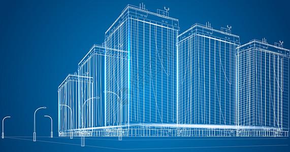 城市楼房科技图片