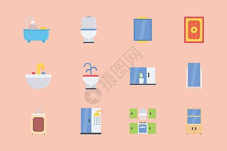 浴室厨房图标图片