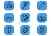 饮食图标图片