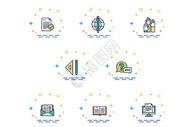 mbe商务办公图标元素图片