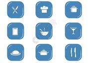 餐具图标元素图片