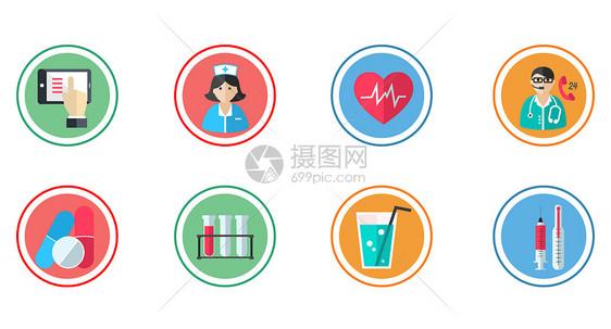医疗图标图片