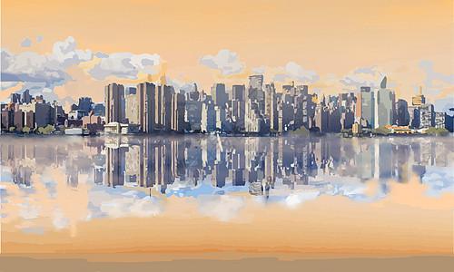 美丽城市图片