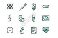 医疗元素图片