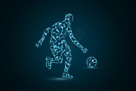 创意足球运动图片