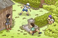 儿童节插画图片