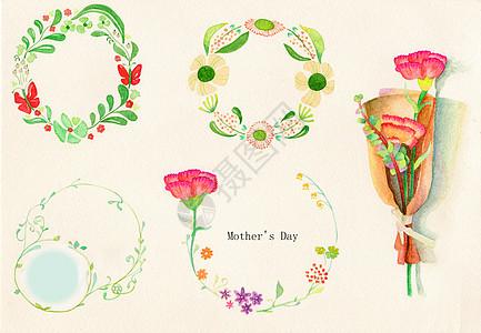 母亲节花朵素材图片