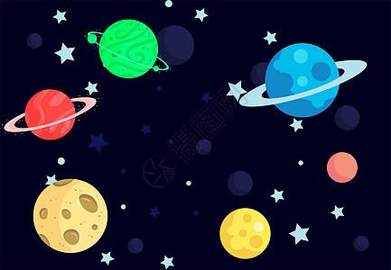 太空背景类图片