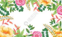花卉背景400158010图片