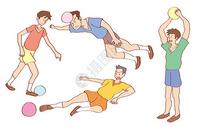 足球人物图片