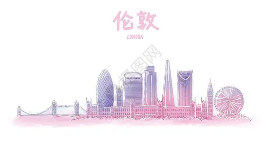 伦敦地标建筑图片