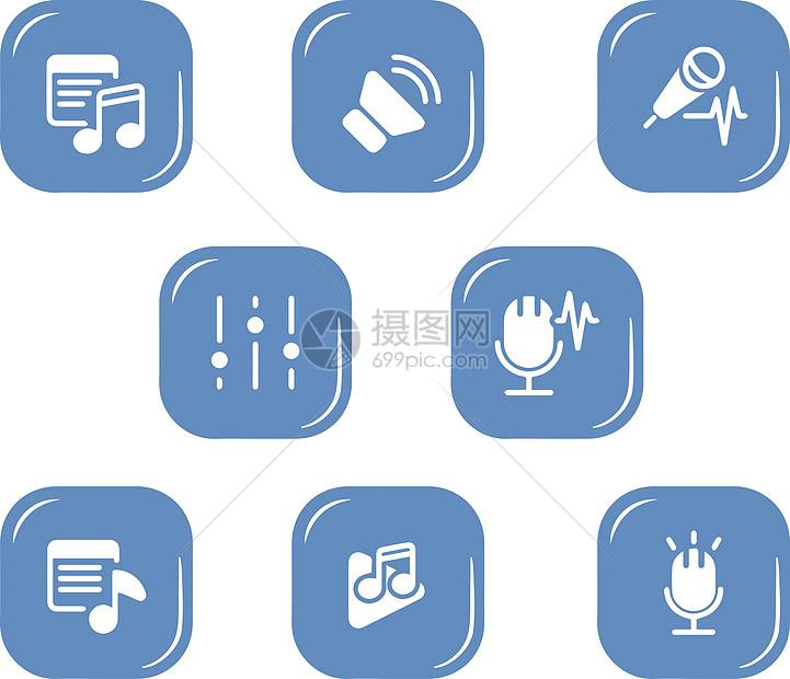音乐图标元素图片