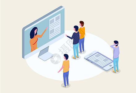 在线学习教育图片