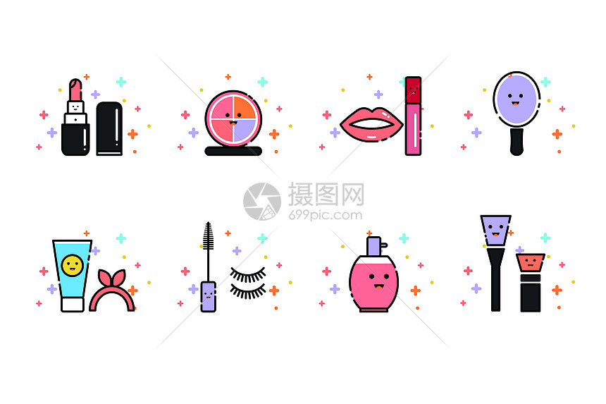 MBE美妆图标图片