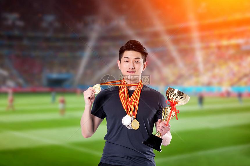 足球赛冠军图片