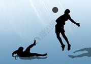 足球插图图片