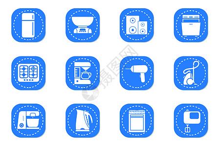 家用电器图标图片