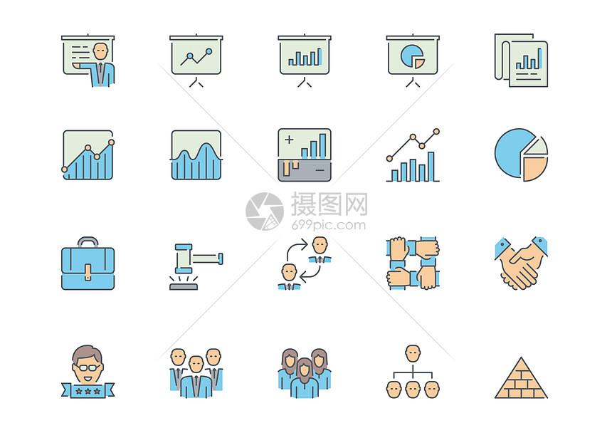 商务合作数据分析图片