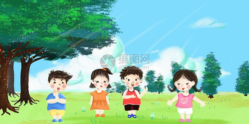 六一儿童节绘画作品图片