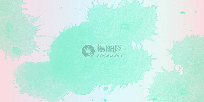 清新水彩背景图片