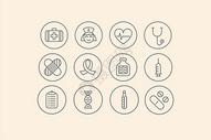 医疗类图标图片