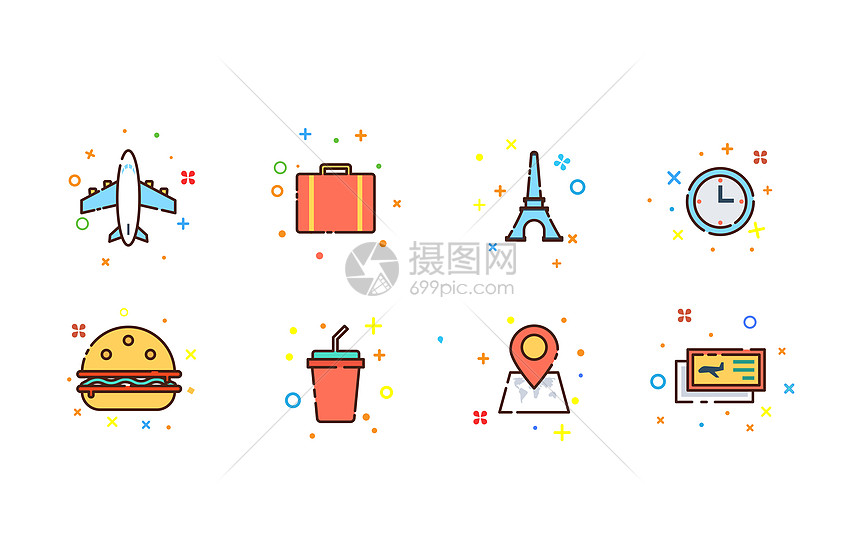 旅游MBE图标图片