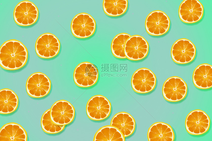 水果色系背景图片
