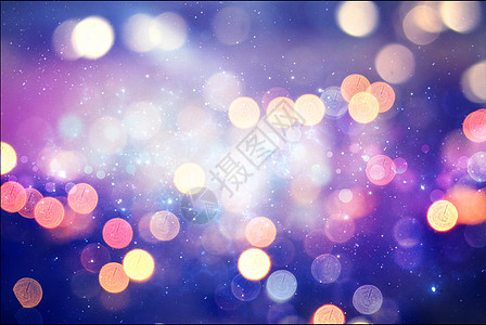紫色光斑梦幻背景图片