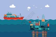 海上工业图片