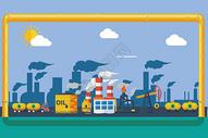 工业城市图片
