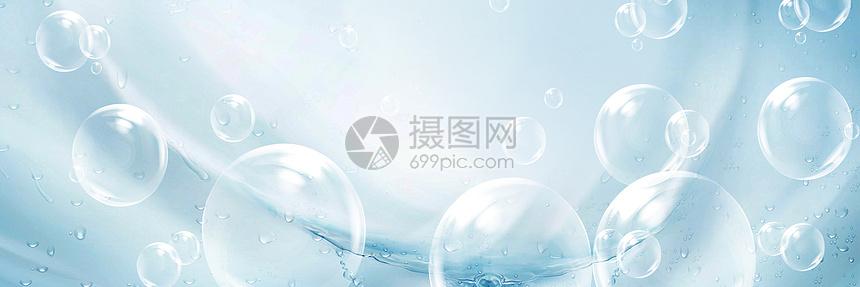 创意护肤品banner图片